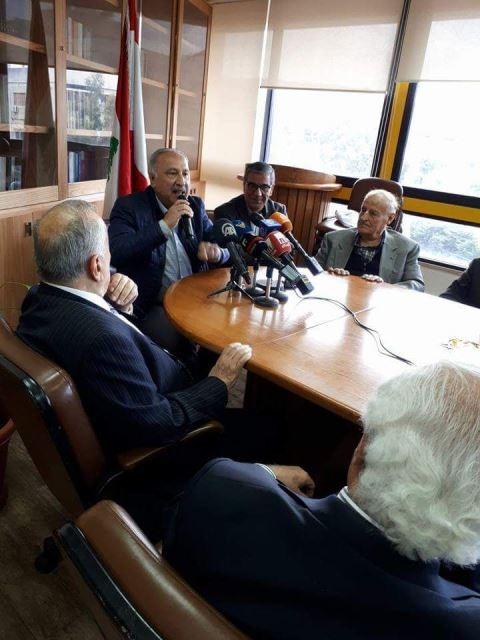 بالصور.. وقفة تضامنية مع الصحافيين الفلسطينيين نظمتها نقابة محرري الصحافة  في لبنان