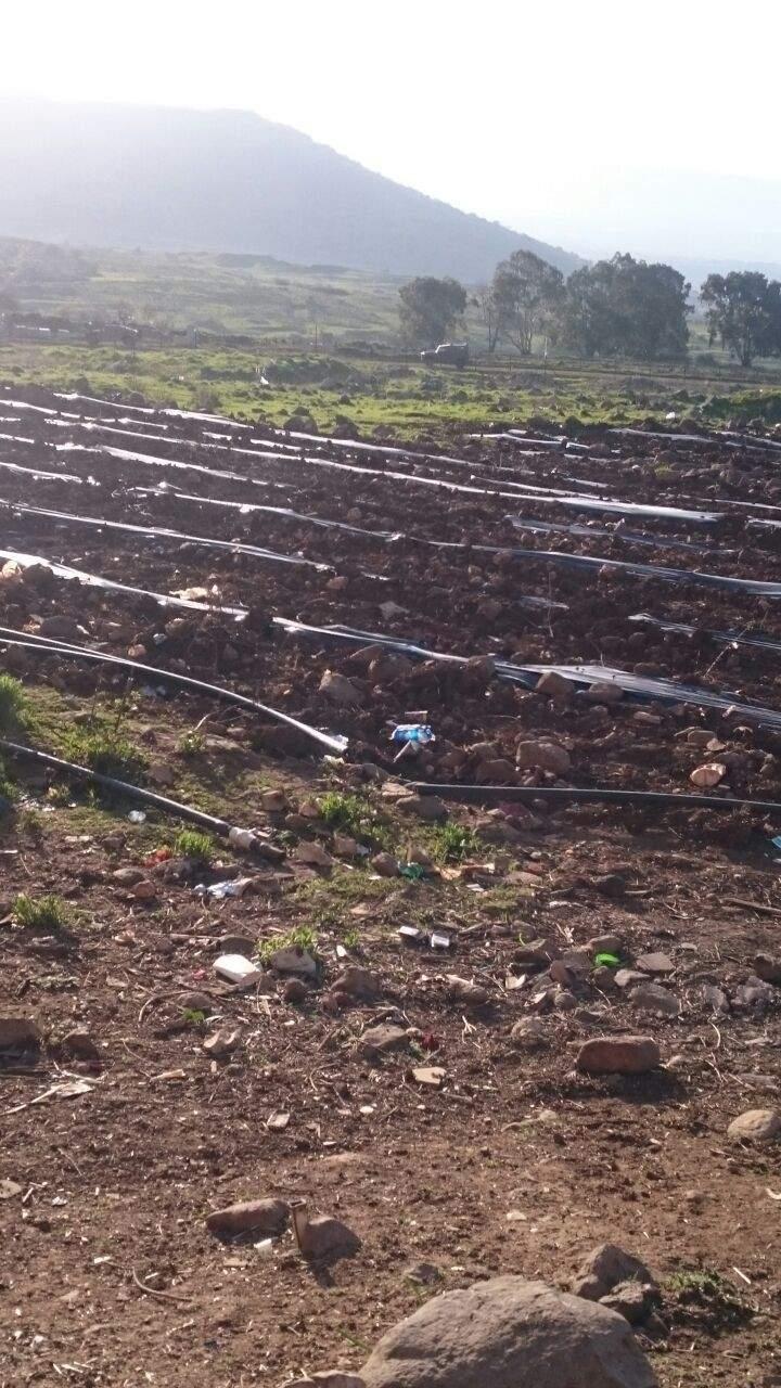 دورية اسرائيلية خرقت خط الانسحاب في منطقة رويسات العلم