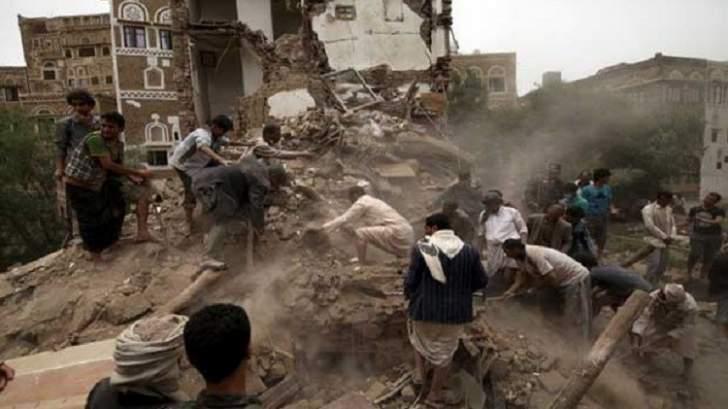 مقتل 15 شخصاً بغارة سعودية على تجمع سيارات بصعدة شمال اليمن