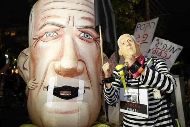 استمرار الاحتجاجات المناوئة لنتنياهو في القدس المحتلة