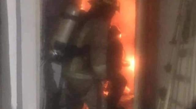 الدفاع المدني: إخماد حريق مشغلات أجهزة التدفئة داخل غرفة وإنقاذ رجل في المنصورية