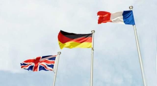 سلطات فرنسا وبريطانيا وألمانيا: نعارض مسعى إعادة فرض العقوبات الأممية على إيران