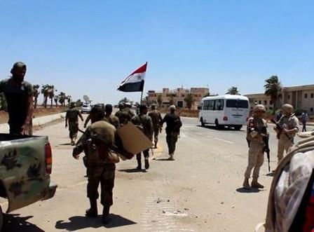 مدينة درعا تحت سيطرة الجيش السوري بالكامل