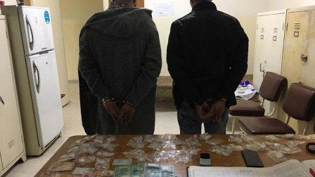توقيف اثنين من اخطر مروجي المخدرات في منطقة نهر الموت