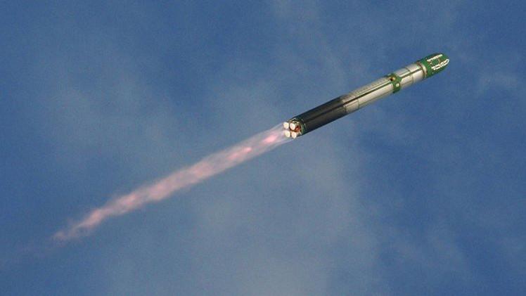 اختبار صاروخي روسي!