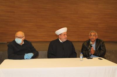 إقرار آلية توزيع المساعدات في صيدا بحضور المفتي سوسان والنائب سعد والسعودي والجمعيات