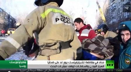 ارتفاع عدد ضحايا انهيار مبنى سكني في