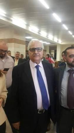 اعلان فوز عبدالله الشامي بنقابة المحامين في طرابلس