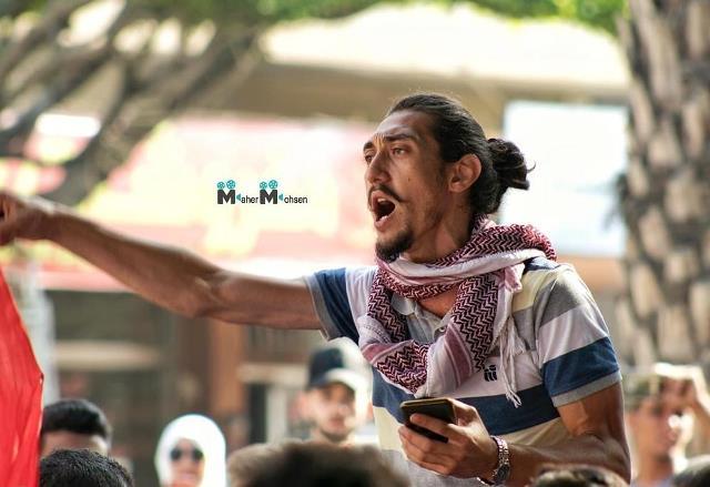 أمين سر المكتب الطلابي للتنظيم الشعبي الناصري يصاب برصاص مطاطي في مواجهات بيروت