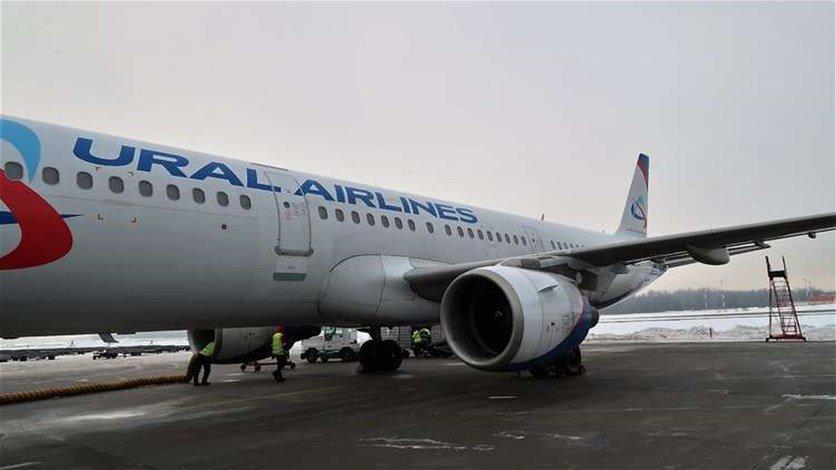 طائرة ركاب روسية تهبط اضطراريا في باكو والسبب قنبلة