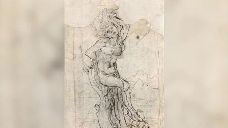اكتشاف لوحة للرسام دا فينتشي في باريس