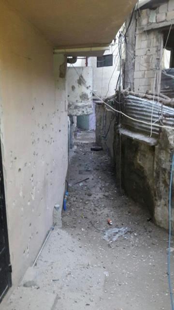 انفجار قنبلة في حي الصفصاف مفرق بستان القدس في مخيم عين الحلوة مع تجدد اطلاق النار