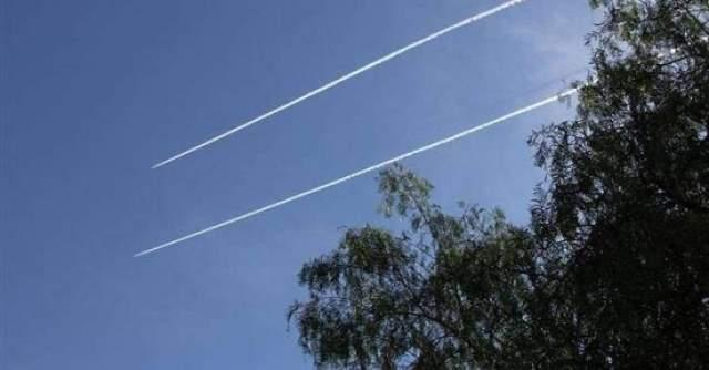 الطيران الحربي الاسرائيلي يحلق على علو منخفض فوق عدد من المناطق وصولا حتى بيروت