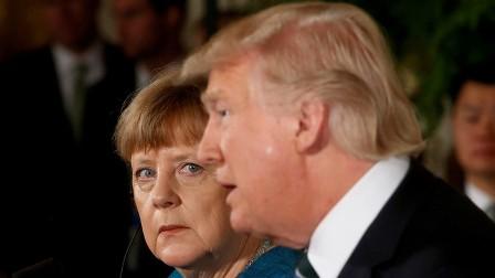 برلين تنفي تسليم ترامب فاتورة لميركل بـ 375 مليار دولار