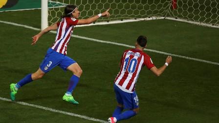 أتلتيكو مدريد يخرج من عنق الزجاجة