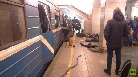 بالفيديو: الأمن الروسي يعتقل أحد مدبري تفجير بطرسبورغ
