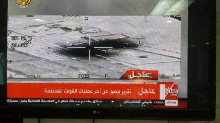 بالفيديو: الجيش المصري يعرض نتائج قصف المسلحين في درنة