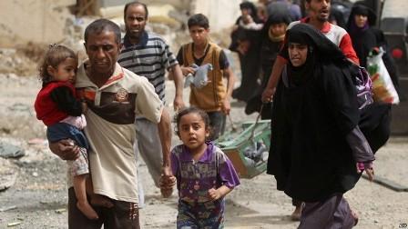 قلق دولي من ارتفاع حصيلة الضحايا المدنيين في الموصل