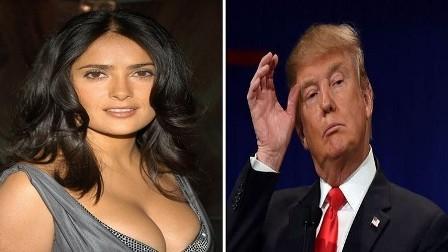 سلمى حايك: رفضت مواعدة ترامب