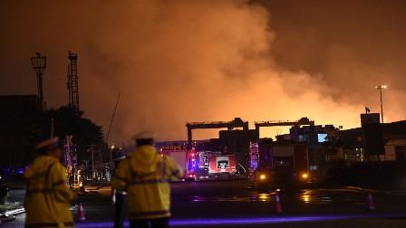 مقتل 22 شخصا بحريق في شرق الصين