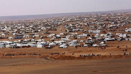 قتلى بانفجار في مخيم الركبان على الحدود مع سوريا