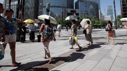 الحرارة العالية تودي بحياة 6 أشخاص في اليابان