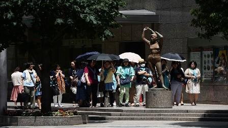 مصرع 9 أشخاص في اليابان بسبب ارتفاع درجة الحرارة