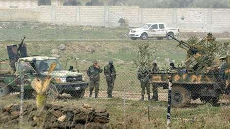 مقتل 45 جنديا سوريا في انفجار أبنية مفخخة في عين ترما بريف دمشق