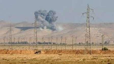 استشهاد سبعة مقاومين من حزب الله في غارة جوية شرق سوريا