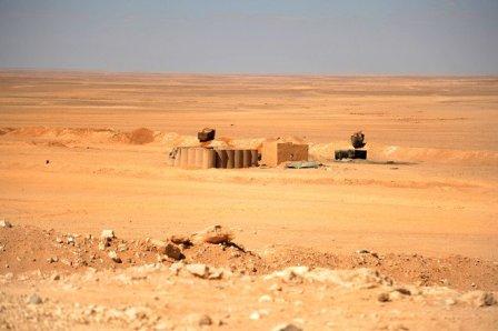 الجيش السوري يسيطر على 12 ألف كم مربع متاخمة للحدود الاردنية...
