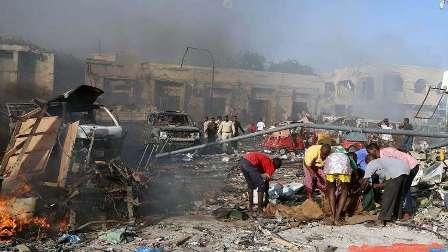 إصابة القائم بالأعمال القطري في تفجير مقديشو