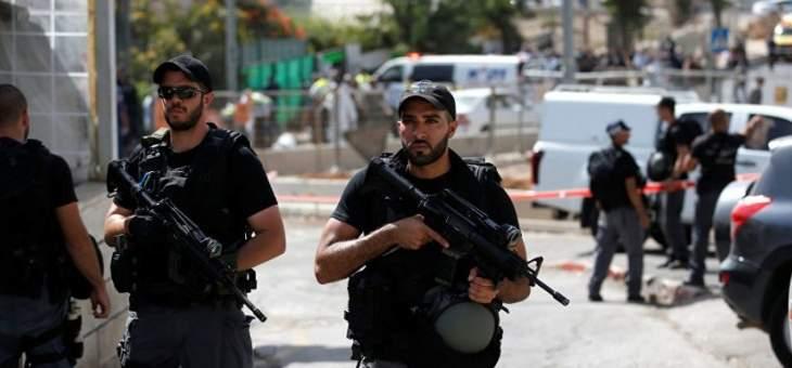 شرطة الاحتلال الاسرائيلي تقتحم الحرم القدسي وتطلب من الموجودين داخله المغادرة
