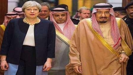 ماي تحمل إلى الرياض