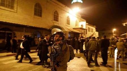 العدو الاسرائيلي  يعتقل العشرات من كوادر حماس