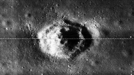 اكتشاف هرم على القمر