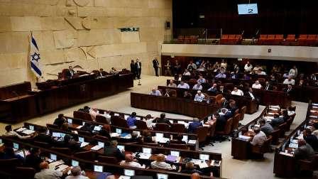 طرد النواب العرب من الكنيست الإسرائيلي قبيل كلمة نائب ترامب
