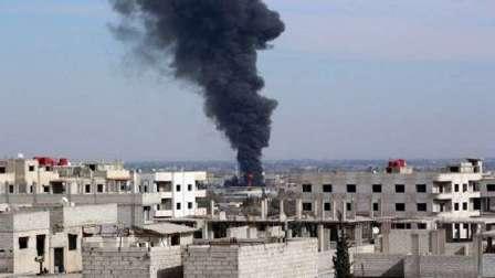 استشهاد 5 مدنيين وإصابة 8 آخرين جراء قصف بالقذائف على حي باب توما في دمشق