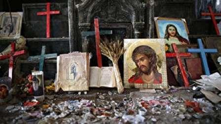 مقتل شخصين بقصف على إحدى كنائس حي باب توما بدمشق