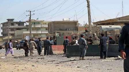 ستة قتلى من رجال الأمن بهجوم انتحاري جنوبي أفغانستان
