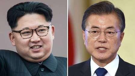 لقاء زعيمي الكوريتين عشية القمة الثالثة بين بلديهما