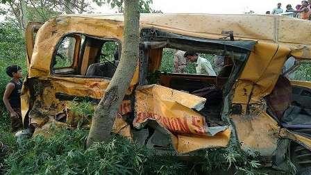 مقتل 13 تلميذا في حادث سير مروع شمالي الهند