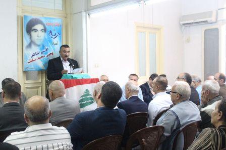لقاء تضامني مع الأسير سكاف في طرابلس