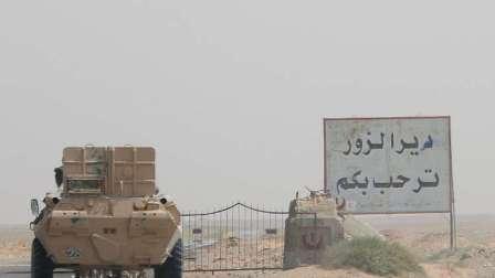 أول زيارة لوفد حكومي سوري رفيع إلى دير الزور منذ تحريرها