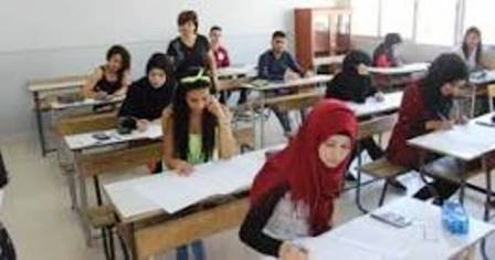 بدء الامتحانات المتوسطة في بنت جبيل