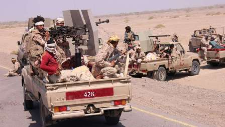 الجيش اليمني يبدأ معركة الحديدة بغطاء من التحالف العربي