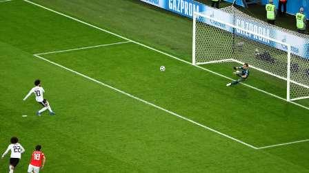 صلاح يسجل رابع أهداف مصر في كأس العالم