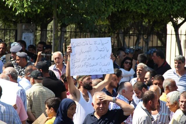 بالفيديو .. اعتصام احتجاجي في مواجهة أزمة الكهرباء في صيدا