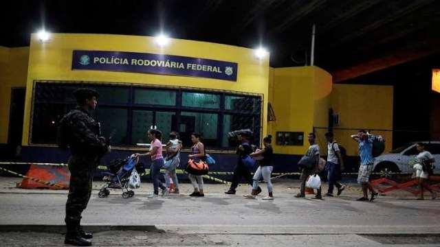 البرازيل قد تغلق الباب بوجه المهاجرين الفنزويليين