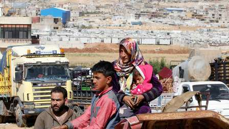 دمشق تنشئ نقاطا لتوزيع اللاجئين والنازحين العائدين