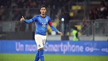 إيقاف لاعب إيطالي دولي لإهانته الذات الإلهية